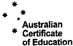AUSTRALIAN CERTIFICATE OF EDUCATION