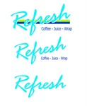 REFRESH COFFEE - JUICE - WRAP ; REFRESH